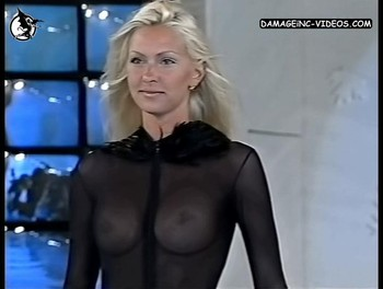 Andrea Burstein breasts see through damageinc video
