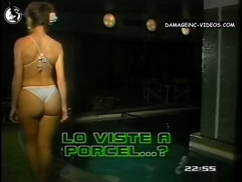 Patricia Dal big booty in thong