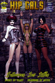 Hipcomix – Hip Gals – Halloween Sex Kitten 01-08