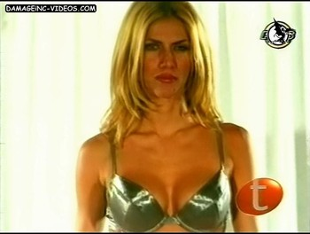 Natalia Graciano busty blonde in lingerie