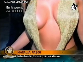 Busty Natalia Fassi hottest cleavage ever