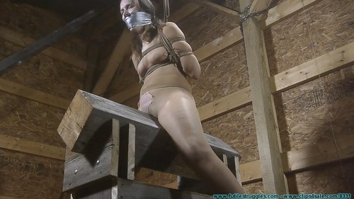 Rachel Rides - The Pony After Being Crotch Chained - Part 3