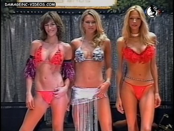 Argentina top models in bikini damageinc video