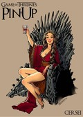 Andrew Tarusov - Game of Thrones Pin-Up