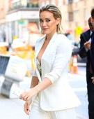 78psyswtxs4y - Hilary Duff Nipslip  Arriving at Today Show in New York City