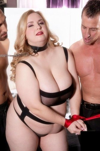 Nikky Wilder   A Busty BBW Anal Slave For Two Men