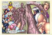 Superheroinecomixxx - Gladiadoras Training eng