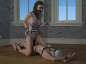 3D PORN BABES 3 - LATEX SLUTS PART 3 free adult comics