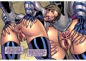 Superheroine Comixxx - Susan Steel-Alien Orgy Farm 1-2
