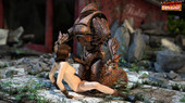 Monster Fucking Cute Girls - The Iron Golem 3D