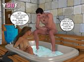 Y3DF – Sauna